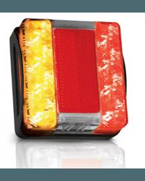 Hella LED achterlicht vierkant