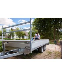 Henra Plateauwagen 351x185cm 2000/2700kg