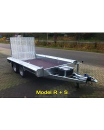 Vlemmix machinetransporter tandemas 300x150cm