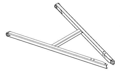 Knott triangel KLZ35-A 3500kg