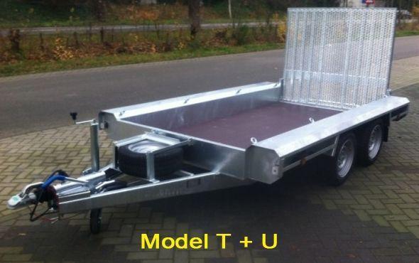 Vlemmix machinetransporter tandemas 400x180cm