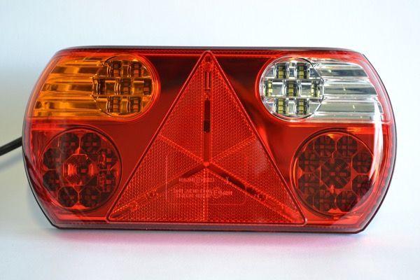 LED achterlicht met vaste kabel links