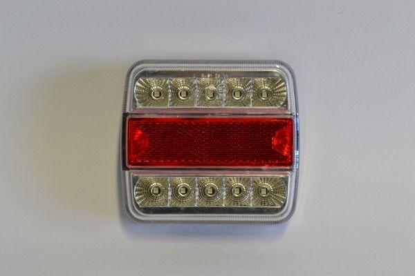 Universeel LED achterlicht vierkant
