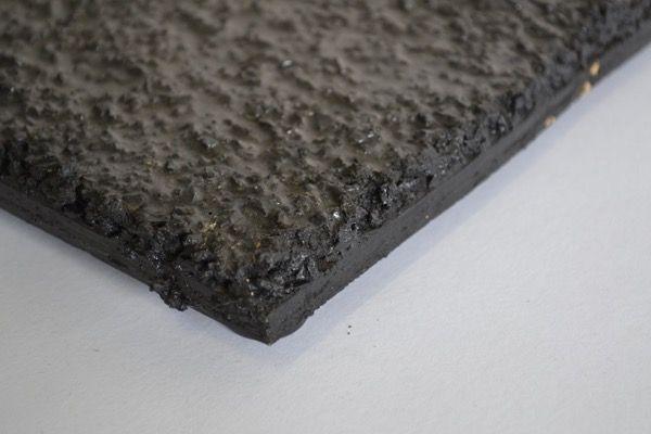 Rubber gietvloer 3m2 bij 15mm dikte