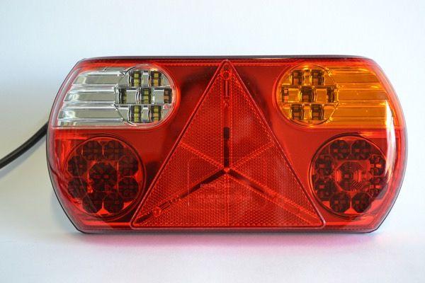 LED achterlicht met vaste kabel rechts