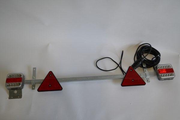 Verlichtingsbalk LED instelbaar 110 - 160 cm