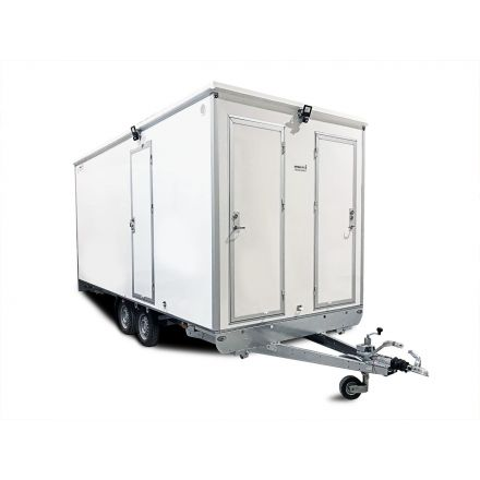 ALRO Schaftwagen 2100kg 3-kamer met toilet 10-persoons