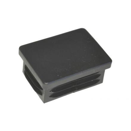Insteekdop 40x30x1-2 mm zwart