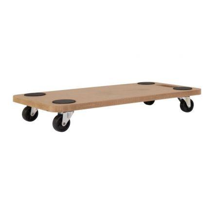 Transportroller hout 57x29cm 150kg