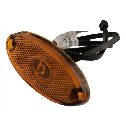 Aspock Flatpoint 2 LED Oranje 12V