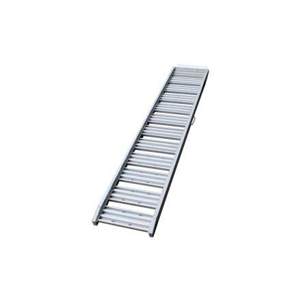Oprijplaat aluminium 200kg 1800x295x60mm per stuk