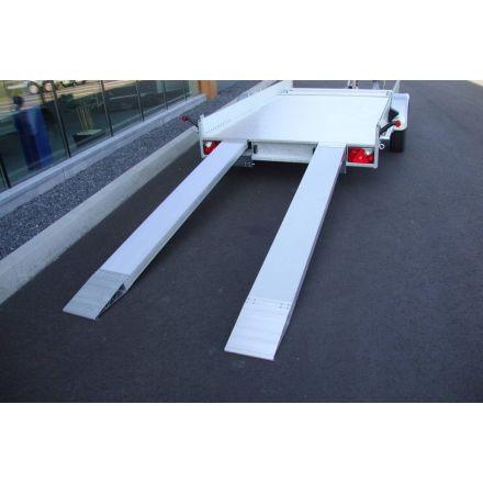 Anssems aluminium rijplaat 150x25x6,5 cm