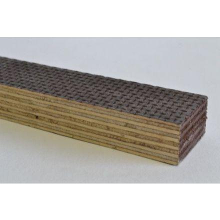 Betonmultiplex 400x200 cm 15 mm bruin glad / antislip