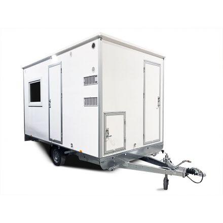 ALRO Schaftwagen 1330kg 2-kamer met toilet 6-persoons Gas uitvoering
