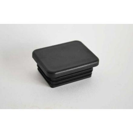 Insteekdop 45x30x1-2 mm zwart