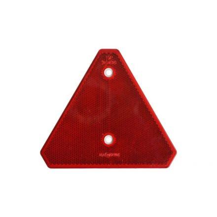 Reflector driehoek rood  150x150