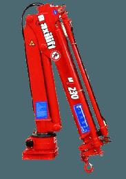 Maxilift M230 LME04 laadkraan 2 hydraulische giekdelen met montageframe 1 hydraulische steunpoot