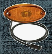 Aspock Flatpoint 2 LED Oranje