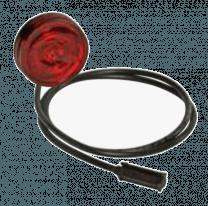 Aspock Monopoint 2 LED rood