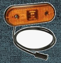 Aspock Unipoint 1 LED Oranje