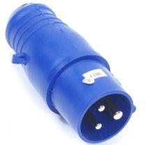 CEE Stekker 3 polig 16A blauw