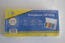 Krimpkous assortiment 100 stuks