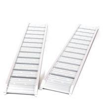 Set oprijplaten aluminium 1000kg 181x29cm