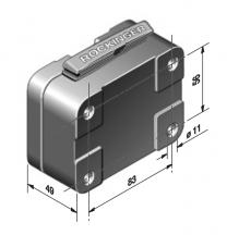 Rockinger Variobloc Wisselplaat 83x56mm