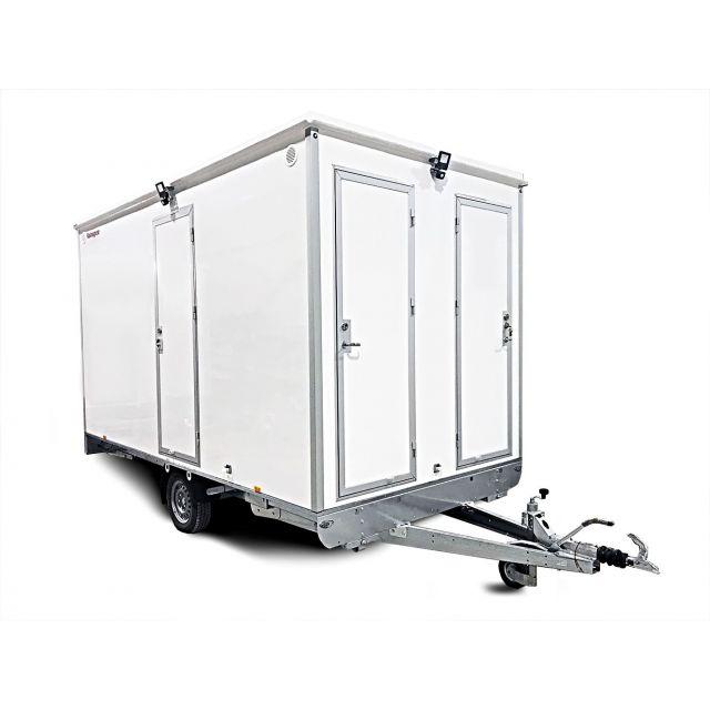 ALRO Schaftwagen 1330kg 3-kamer met toilet 6-persoons