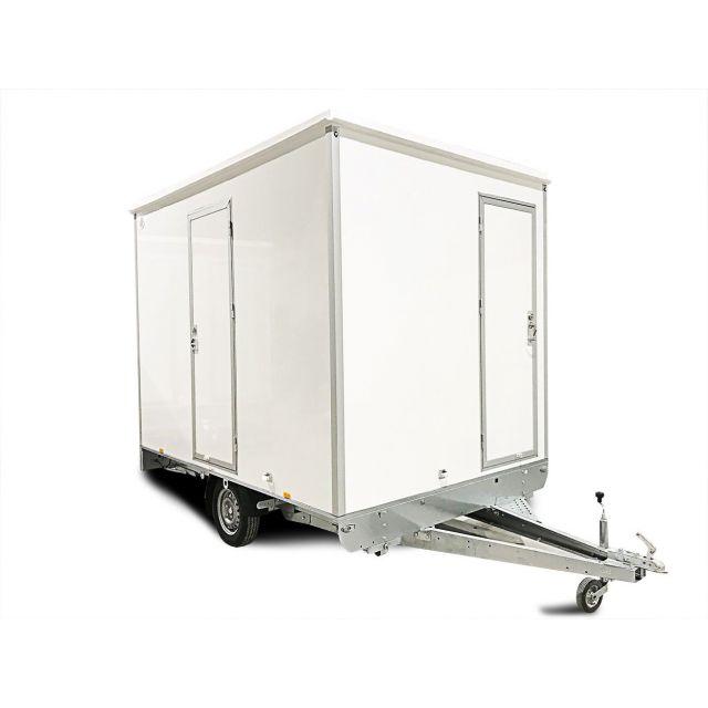 ALRO Schaftwagen 750kg met toilet 4-persoons