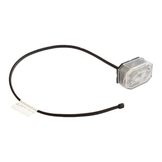 Aspock Flexipoint wit breedtelicht met 50cm kabel
