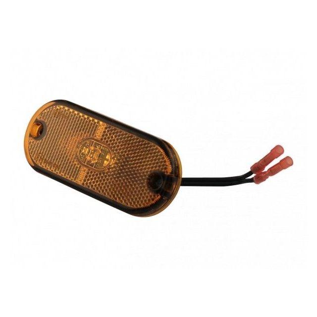 Aspock Flatpoint 3 LED Oranje 12V