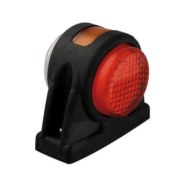 Breedtelicht LED rood/wit/oranje kabel 20cm