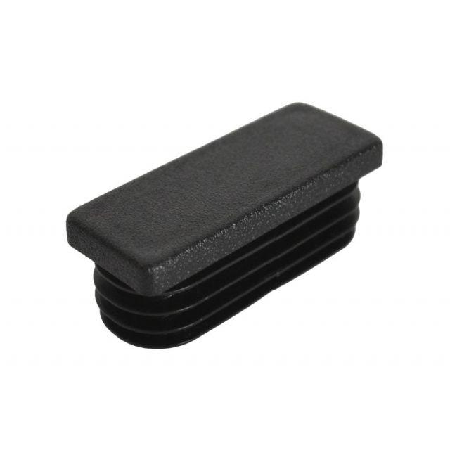 Insteekdop 50x20x1-3 mm zwart
