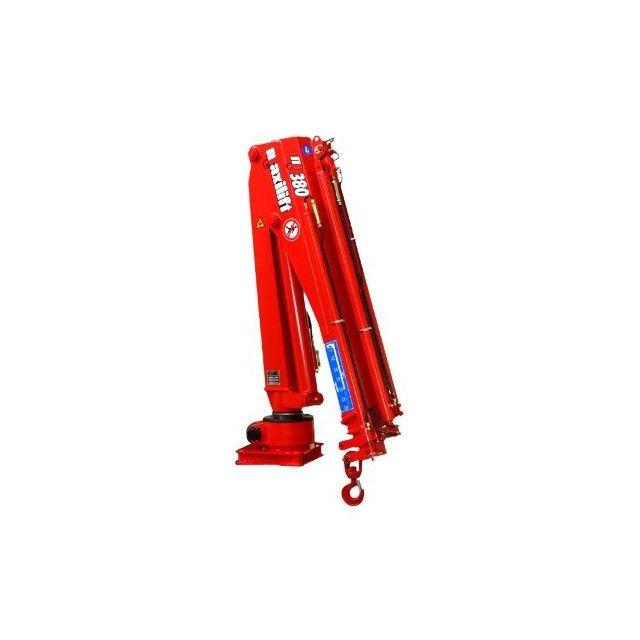 Maxilift M380 LME04 laadkraan 2 hydraulische giekdelen met montageframe 2 hydraulische steunpoten
