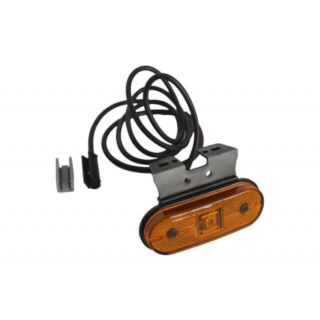 Aspock Unipoint 1 LED Oranje onderbouw
