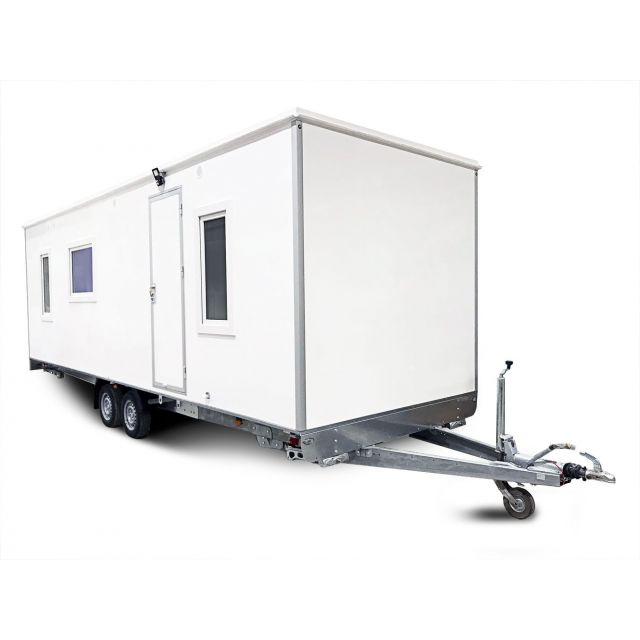 ALRO Mobiele woonunit / Tinyhouse 2610kg 724x231x220cm 4-persoons