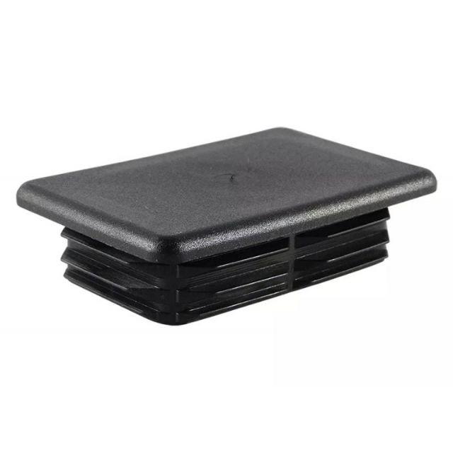 Insteekdop 30x20x1-2 mm zwart
