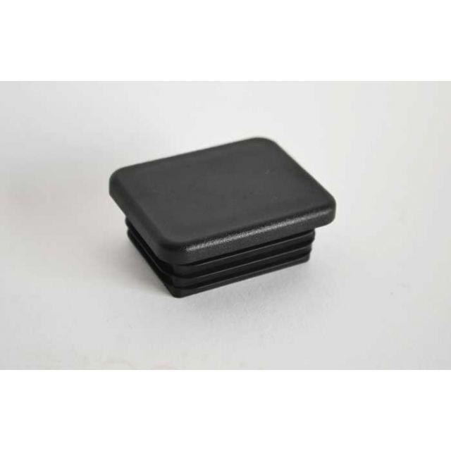 Insteekdop 40x20x1-2 mm zwart