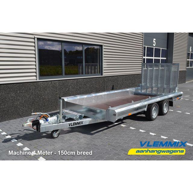 Vlemmix machinetransporter tandemas 300x150cm