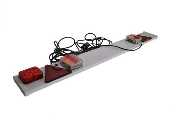 Verlichtingsbalk LED op kunststof plaat