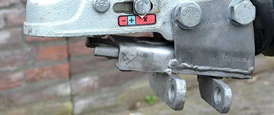 Beveiliging Disselslot Aanhangwagen