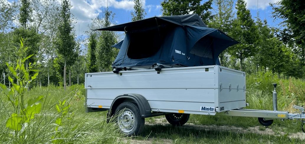 Thule Ayer 2 op Anssems GT Bagegwagen
