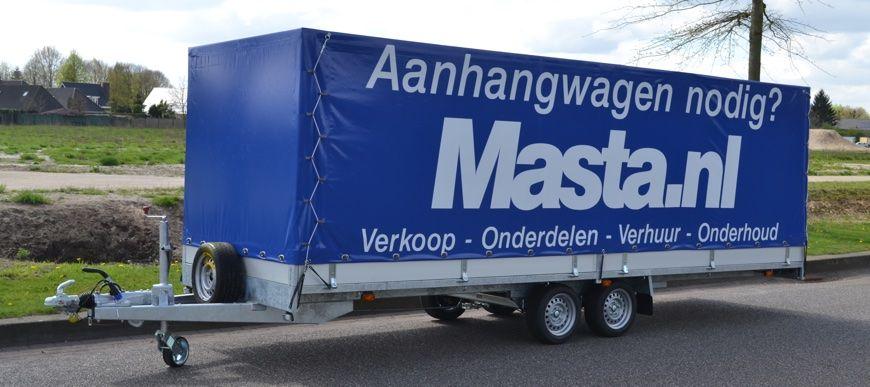 aanhangwagen huren in de regio Eindhoven