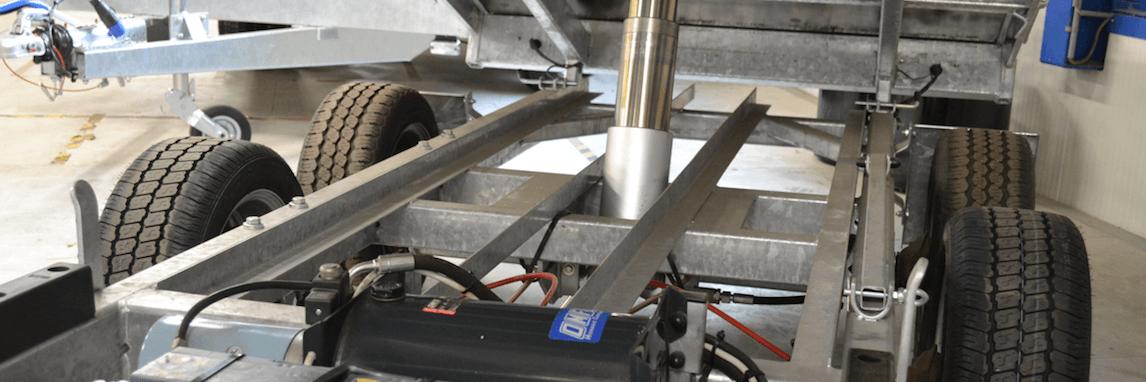 Onderhoud hydrauliek bij Masta Aanhangwagens