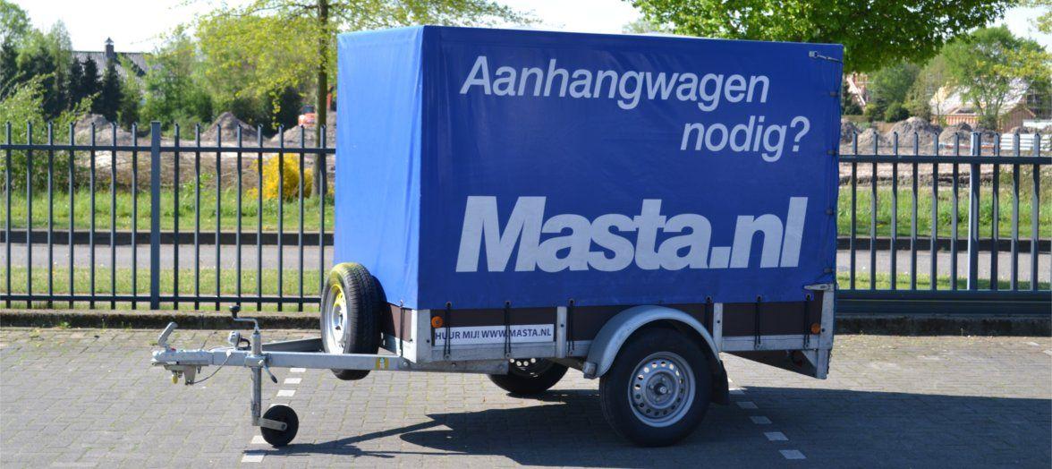 Aanhanger met huif huren in de regio Den Bosch