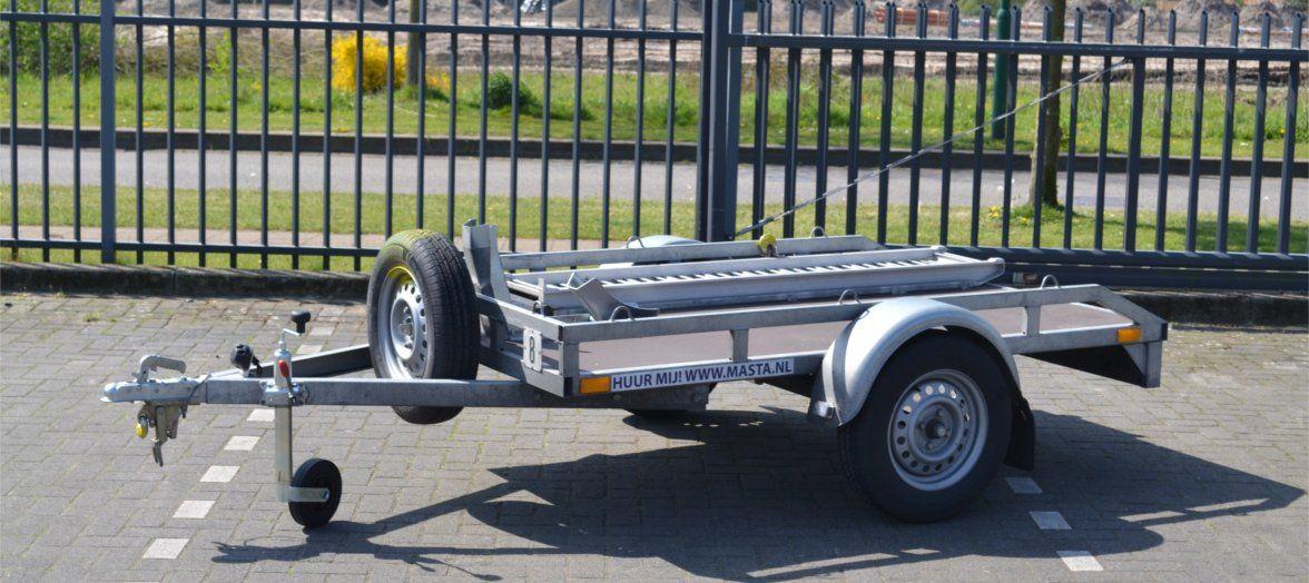 Motortrailer aanhangwagen huren in de regio Eindhoven