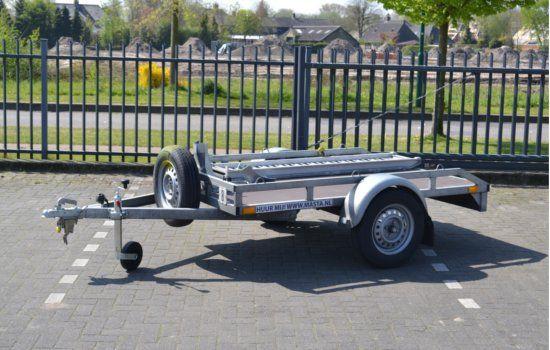 Motor trailer voor het vervoer van 1 motor huren.